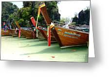 Nature Park Hong Island Thailand Greeting Card