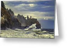 Natures Beauty Unleashed Greeting Card