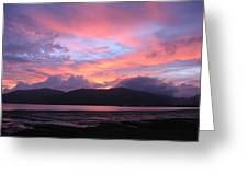 Nature's Cairns Sunrise Greeting Card