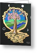 Natures Guardian Greeting Card by Carolyn Cable