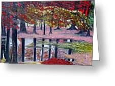 Natures Painting Greeting Card