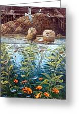 Natures Union At Monterey Robert Lyn Nelson Greeting Card