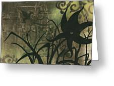 Natures Whimsy 6 By Madart Greeting Card