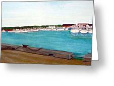 Naufrage Harbour Pei Greeting Card