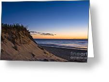 Nauset Beach Sunrise Greeting Card