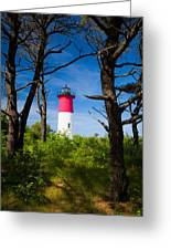 Nauset Lighthouse Greeting Card