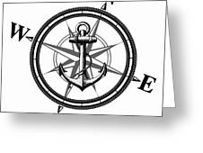 Nautica Bw Greeting Card