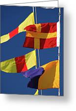 Nautical Banners Greeting Card