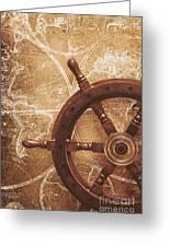 Nautical Exploration  Greeting Card