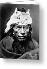 Navajo Man, C1905 Greeting Card