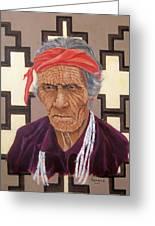 Navajo Medicine Man Greeting Card