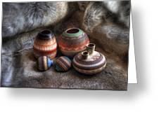Navajo Pottery Greeting Card