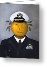Naval Officer Greeting Card