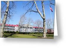 Naval Square - Philadelphia Pa Greeting Card