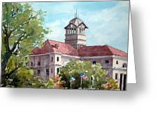 Navarro County Courthouse Greeting Card