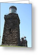 Navesink Twinlights II Greeting Card
