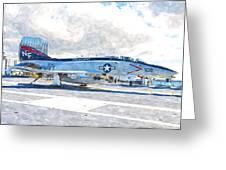 Navy Aircraft Greeting Card