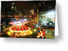 Navy Pier Greeting Card