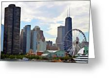 Navy Pier Chicago Illinois Greeting Card