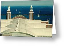 Navy Pier Chicago Greeting Card