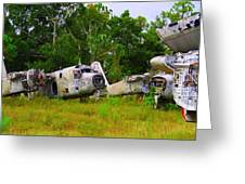 Navy S-2 Graveyard 2 Greeting Card