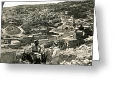 Nazareth, Palestine, C1920 Greeting Card