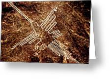 Nazca Hummingbird Greeting Card