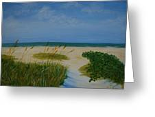 Nc Beach Greeting Card