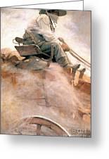 N.c. Wyeth: Ore Wagon Greeting Card