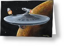 Ncc-1701 Greeting Card