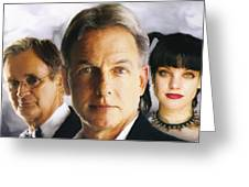 Ncis Team Greeting Card