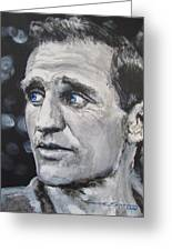 Neal Cassady - On The Road Greeting Card by Eric Dee