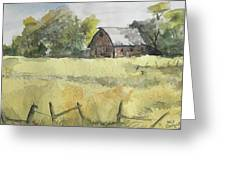 Near Cedar Falls, Ia Greeting Card