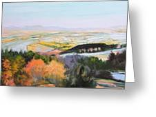 Near Clawddnewydd In North Wales. Greeting Card