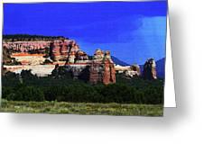 Near El  Morro National Monument Greeting Card