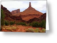 Near Moab 5 Greeting Card