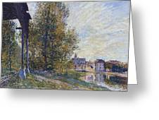Near Moret Greeting Card