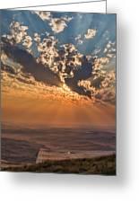 Near Sunset Greeting Card