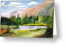 Near Two Medicine Montana Greeting Card