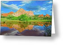 Nearly 2 Million People Rollick In This World-famous City Park Every Year.  Greeting Card