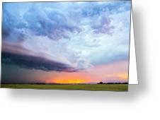 Nebraska Thunderstorm Eye Candy 021 Greeting Card