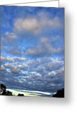 Nebraskan Altocumulus Clouds Greeting Card