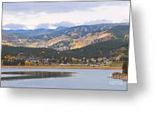 Nederland Colorado Scenic Autumn View Boulder County Greeting Card