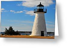 Neds Point Light Greeting Card