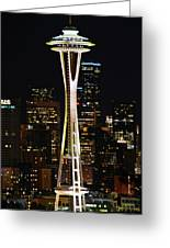 Needle At Night Greeting Card
