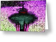 Needle In A Raindrop Stack 3 Greeting Card
