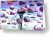 Needle Rocks Greeting Card