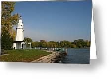 Neenah Light House Greeting Card