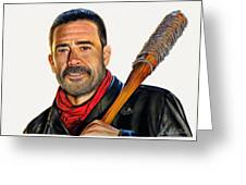 Negan - The Walking Dead Greeting Card
