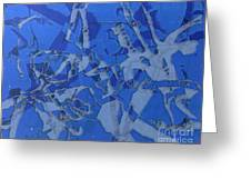 Negative Photo Silkscreen Greeting Card